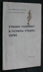 náhled knihy - Výrobní podmínky a technika výkrmu vepřů