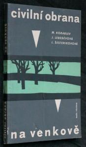 náhled knihy - Civilní obrana na venkově