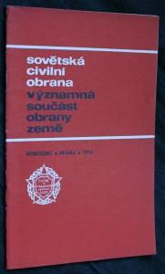 náhled knihy - Sovětská civilní obrana-významná součást obrany země
