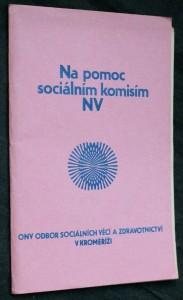 náhled knihy - Na pomoc sociálním komisím NV
