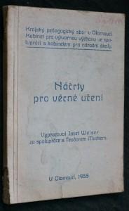náhled knihy - Náčrty pro věcné učení