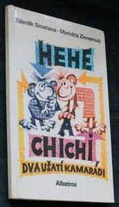 náhled knihy - Hehe a Chichi : Dva ušatí kamarádi