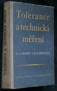 náhled knihy - Tolerance a technická měření