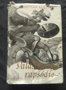 náhled knihy - Valdštejnská rapsódie (Ocpl, 500 s., il. J. Blažek)