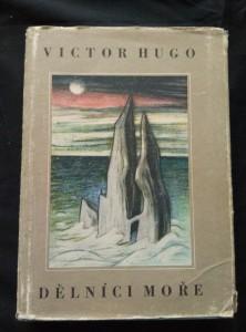 náhled knihy - Dělníci moře (A4, Ocpl, ob a il. J. Zrzavý)