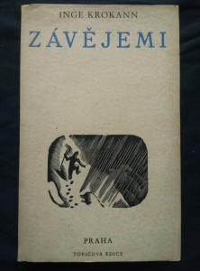 náhled knihy - Závějemi (Oppl., 368 s., dřevoryt a typo Cyril Bouda)