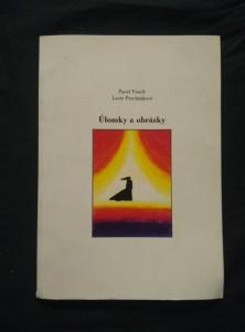 náhled knihy - Úlomky a obrázky (Obr, nestr., foto L. Procházková, dedikace autora)