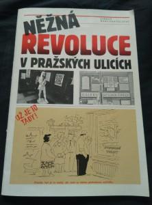náhled knihy - Něžná revoluce v pražských ulicích (A4, Obr, il. D. Pálka, foto)