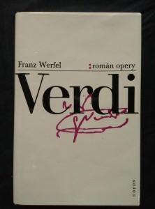 náhled knihy - Verdi - román opery (Ocpl, 392 s.)