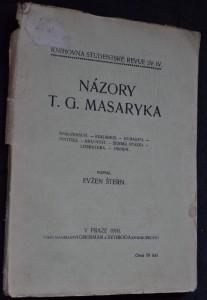 náhled knihy - Názory T.G. Masaryka
