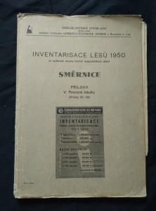 náhled knihy - Inventarisace lesů 1950 na podkladě obnovy lesních hospodářských plánů (A4, Obr.)