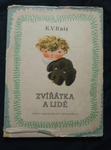 náhled knihy - Zvířátka a lidé (A4, Oppl.,  nestr., il. J. Trnka)