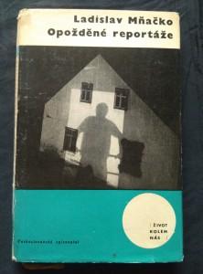 náhled knihy - Opožděné reportáže (Ocpl., 188 s., ob a vaz Z. Seyd)