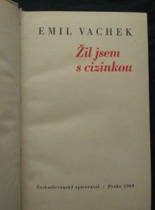 náhled knihy - Žil jsem s cizinkou (Ocpl., 298 s., bez ob.)
