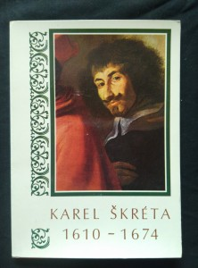 náhled knihy - Karel Škréta (lam., soubor 12 pohlednic)