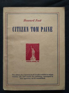 náhled knihy - Citizen Tom Paine (Obr., 276 s.)