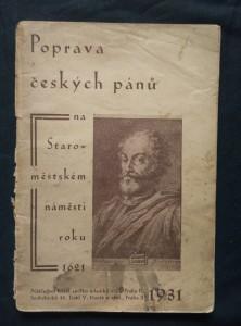 náhled knihy - Poprava českých pánů na Staroměstském náměstí roku 1621 (Obr., 64 s.)