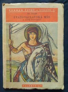 náhled knihy - Svatováclavská mše a jiné povídky (Obr., 65 s., il. M. Aleš)