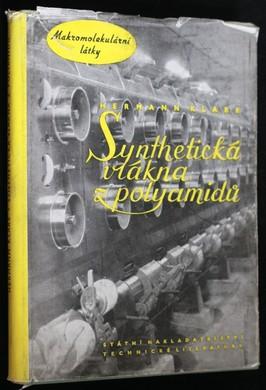 náhled knihy - Syntetická vlákna z polyamidů