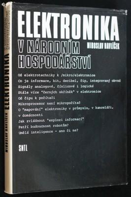 náhled knihy - Elektronika v národním hospodářství