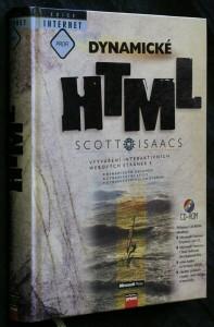 náhled knihy - Dynamické HTML : vytváření interaktivních webových stránek s dynamickým obsahem, dynamickými styly, dynamickým polohováním