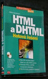 náhled knihy - HTML ; a, DHTML : hotová řešení