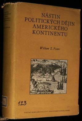 náhled knihy - Nástin politických dějin amerického kontinentu