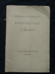 náhled knihy - Rozpomínky z mládí (Obr, 16 s.)