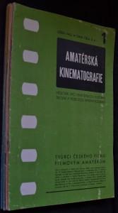 náhled knihy - Amatérská kinematografie, č. 1 - 12