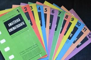 antikvární kniha Amatérská kinematografie, č. 1 - 12, 1942