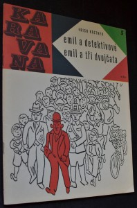 náhled knihy - Emil a detektivové ; Emil a tři dvojčata