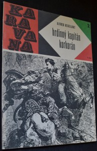 náhled knihy - Hrdinný kapitán Korkorán