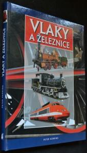 náhled knihy - Vlaky a železnice