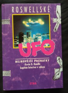 náhled knihy - Rosswellské UFO - Nejnovější poznatky 184 s.)