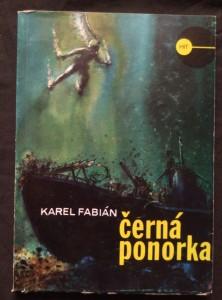 náhled knihy - Černá ponorka (Obr, 128 s., il. J. Hudek)