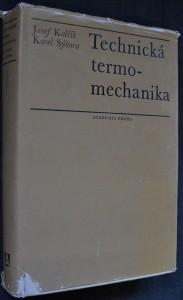 náhled knihy - Technická termomechanika : Učebnice pro vys. školy