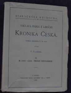 náhled knihy - Václava Hájka z Libočan Kronika česká. III., Čechy vévodské, r. 1101-1253