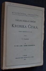 náhled knihy - Václava Hájka z Libočan Kronika česká. II, Zánik pohanství, r. 905-1100