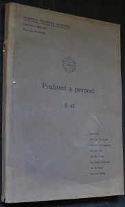 náhled knihy - Pružnost a pevnost II. díl