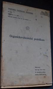 náhled knihy - Organicko-chemické praktikum