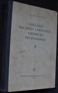 náhled knihy - Základní pochody a přístroje chemické technologie. [Část] 2