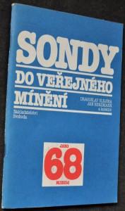 náhled knihy - Sondy do veřejného mínění : (jaro 1968, podzim 1989)