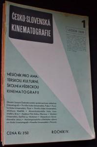 náhled knihy - Česko-slovenská kinematografie : 1 - 12