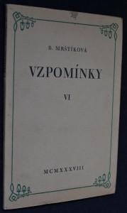 náhled knihy - Vzpomínky VI