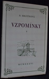 náhled knihy - Vzpomínky V