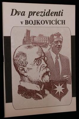 náhled knihy - Dva prezidenti v Bojkovicích