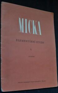 náhled knihy - Elementární etudy pro housle