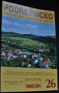 náhled knihy - Podřevnicko : Kronika okresu Zlín, roč. 10, č. 1