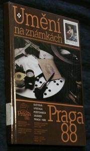 náhled knihy - Umění na známkách : [Katalog výstavy], Praha červenec 1988