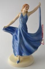 náhled knihy - Soška tanečnice - Royal Dux